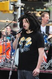 Adam Duritz Photo - Counting Crows Rockefeller Center NY 9-2-2014 Photo by - Ken Babolcsay IpolGlobe Photos Adam Duritz