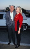 Aaron Spelling Photo - Aaron Spelling with Candy Spelling 1995 Photo by Fitzroy Barrett-Globe Photos Inc