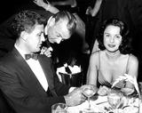 Gary Cooper Photo - Robert Stack and Wife Rosemarie with Gary Cooper h333-38 Globe Photos Inc Robertstackretro