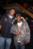 Allan Houston Photo - Knicks Bowl 4 - the New York Knicks Annual Fundraiser to Benefit the Red Holzman Knicks Cheering For Kids Foundation at Chelsea Piers Lanes in New York City 03123003 Photo by John BarrettGlobe Photos Inc 2003 Allan Houston and Dave Chapelle
