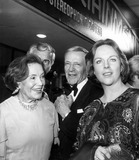 Adele Photo - Fred Astaire with Sister Adele Astaire and Daughter Ava Astaire 1974 Photo by Globe Photos Inc