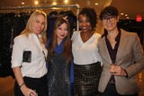 Alice Aoki Photo - Natasha Mccreas Evolution of a Love Addict Book Launch Cocktail Party Hosted by Chrystee Pharris Nicole Miller Store West Hollywood CA 10222014 Christy Oldham Alice Aoki Natasha Mccrea and Claudia Lari Clinton H WallaceGlobe Photos Inc