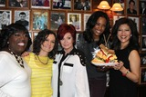Sara Gilbert Photo - Co-hosts of Cbs the Talk Kick Off One Week of NYC Tapings Unveiling of New Talkwich  Vegetarian Sandwich Carnegie Deli NYC December 11 2011 Photos by Sonia Moskowitz Globe Photos Inc 2011 Sheryl Underwood Sara Gilbert Sharon Osbourne Aisha Tyler Julie Chen