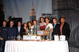 Anna Belknap Photo - AJ Buckley Robert Joy David Stapf Anna Belknap Melina Kanakaredes Jerry Bruckheimer Eddie Cahill Carmine Giovinazzo Gary Sinise and Hill Harper during the CSI NY 100th Episode Cake Cutting Celebration held at the CBS Paramount Studios on September 16 2008 in Los AngelesPhoto Michael Germana - Globe PhotosK59651MGE