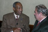Arthur Levine Photo - K35226RMA CONVERSATION WITH COSBY TEACHERS COLLEGE AND REGION 10 COLLABERATIVE COMMEMORATION OF BROWN VS TOPEKA BOARD OF EDUCATION SUPREME COURT DECISION  NEW YORK CITY 02022004PHOTO RICK MACKLER RANGEFINDERS GLOBE PHOTOS INC  2004BILL COSBY AND ARTHUR LEVINE