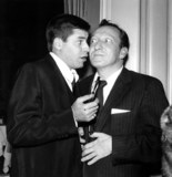 Huntz Hall Photo - Jerry Lewis_huntz Hall Globe Photosinc