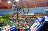 Albert Cabestany Photo - 20060225 Lisboa Portugal - Lisbon Receives For the 7th Time the World Championship of Trial Indoor at Pavilhao Atlantico in Picture Albert Cabestany Photo Alvaro IsidorocityfilesGlobe Photos Inc