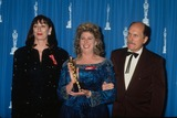 Anjelica Huston Photo - Anjelica Huston with Callie Khouri Robert Duvall 1992 L3024 Photo by Michael Ferguson-Globe Photos Inc