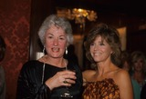 Alan Hunter Photo - Beatrice Arthur with Jane Fonda F4885 Photo by Alan Hunter-Globe Photos Inc