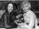 Barbara Stanwyck Photo - Loretta Youngbarbara Stanwyck Anita Louise Oscar Party Photo Nate CutlerGlobe Photos Inc