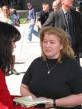 Bonnie Lee Bakley Photo - robert Blake Arraignment Van Nuys Superior Court Van Nuys CA 04222002 Margerry Bakley (Sister of Bonny Lee Bakley) Photo by Milan RybaGlobe Pphotosinc2002 (D)
