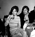 Anthony Newley Photo - Joan Collins and Anthony Newley A893-4b Nate CutlerGlobe Photos Inc