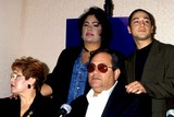 Chris Perez Photo - Selena Movie Press Conference Selenas Parents Marcella Suzette and Abraham Quintanilla with (selenas Husband Chris Perez) Photo Bylisa RoseGlobe Photos Inc