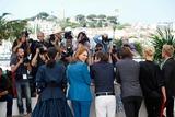 Amira Casar Photo - Lea Seydoux Amira Casar and Aymeline Valade Saint-laurent Photo Call Cannes Film Festival 2014 Cannes France May 17 2014 Roger Harvey