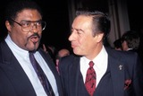 Rosey Grier Photo - Great Sports Legends Rosey Grier and Jerry Orbach 10-05-1993 Photo by Bill Crespinel-camera Press Globe Photos