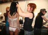 Ashley Paige Photo - Ashley Paige Spring 2006 Collection - Backstage Mercedes-benz Spring 2006 LA Fashion Week Smashbox Studios Culver City CA 10-18-2005 Photo Clintonhwallace-photomundo-Globe Photos Inc Atmosphere