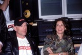 Annabella Sciorra Photo - 1402 New York Russell Simmons and Bruce Willis Present Recording Studio to Nyc-based Youth Outreach Group Art Start Photo by Ken Babolcsayipol IncGlobe Photos Inc I7188kba 2002 Bruce Willis and Annabella Sciorra