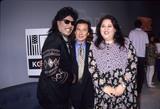 Amy Hill Photo - Little Richard with Mario Machado and Amy Hill the Kobe Relief Telethon in Los Angeles 1995 Aka Richard Wayne Penniman Photo by Fitzroy Barrett-Globe Photos Inc