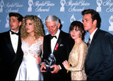 Aaron Spelling Photo - Peoples Choice Awards Jason Priestley Tori and Aaron Spelling Shannon Doherty and Luke Perry Michael FergusonGlobe Photos Inc
