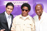 Tego Calderon Photo - John Singleton with Tego Calderon and Rick Gonzalez Pictured Arriving on the Red Carpet For the 2007 Bet Awards in Hollywood California at the Shrine Auditourium on 06-26-2007 Photo by Sophia Jones-Globe Photos Inc