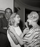 Anthony Quinn Photo - Anthony Quinn and Wife Yolanda Anita Louise (Hostess) Oscar Party Photo Nate CutlerGlobe Photos Inc