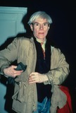 Andy Warhol Photo - Andy Warhol 1983 Pn-e7494 Photo by Transworld Feature Syndicate-Globe Photos Inc