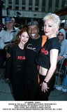 Nana Visitor Photo -  53001 Stars in the Alley - Broadways Best Perform in a Free Concert at Shubert Alley in NYC Vicki Lewis Ben Vereen  Nana Visitor Photo by Rick MacklerrangefinderGlobe Photos Inc