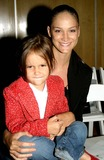 Alvin Valley Photo - Ines Rivero and Daughter Maya at the Alvin Valley Spring 2005 Collection at the Metropolitan Pavillion in New York City 992004 Photo Bybarry TalesnickipolGlobe Photos Inc
