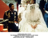 Lady Diana Photo - Londonengland-(7-29-81) the Wedding of Hrh Prince of Wales to Lady Diana Spencer   St Pauls Cathedral London Credituppa Ipolinc I1236 B39 038141 Credit Photographer NameipolGlobe Photos Inc
