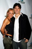 Adam Larson Photo - I8428CHWREALITY CARES FOUNDATION BENEFIT HOSTED BY BATTLEFIELD FASHIONS AND CLICQUOT CHAMPAGNE PEARL WEST HOLLYWOOD CALIFORNIA - RED CARPET02202004 PHOTO BY CLINTON HWALLACEIPOLGLOBE PHOTOS INC  2004TONYA COOLEY ( MTV REAL WORLD ) AND ADAM LARSON ( MTV ROAD RULES )