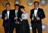 Anthony Andrews Photo - ANTHONY ANDREWS GOFFREY RUSH HELENA BONHAM CARTER COLIN FIRTHCAST IN A MOTION PICTURE WINNERS17th Annual Screen Actors Guild Awards (pressroom)  held at The Shrine Auditorium Los Angeles CA January 30 - 2011 PhotoGraham Whitby Boot-Allstar - Globe Photos Inc 2011K67471alst