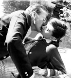 Gary Cooper Photo - Audrey Hepburn and Gary Cooper in Love in the Afternoon 1957 Supplied by IpolGlobe Photos Inc Audreyhepburnretro