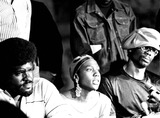 Afeni Shakur Photo - Elbert Howard Big Man (Left) and Afeni Shakur 7817 IpolGlobe Photos Inc