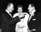 Desi Arnaz Photo - Keenan Wynn Lucille Ball and Desi Arnaz 1957 Supplied by Globe Photos Inc
