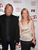 Matthew Carnahan Photo - Matthew Carnahan and Helen Hunt During the Season Two Premiere Screening of Dirt Held at the Archlight Hollywood Cinema on February 28 2008 in Los Angeles Photo by Michael Germana-Globe Photosinc