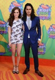 Avan Jogia Photo - Zoey Deutch Avan Jogia attending the Nickelodeons 27th Annual Kids Choice Awards Held at the Usc Galen Center in Los Angeles California on March 29 2014 Photo by D Long- Globe Photos Inc