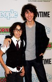 Alex Wolff Photo - The Naked Brothers Band Nat (R) and Alex Wolff Arrive For the Premiere of Bon Jovi When We Were Beautiful at the Sva Theater in New York on October 21 2009 Photo by Sharon NeetlesGlobe Photos Inc