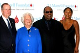 Aisha Morris Photo - the 29th Annual Tj Martell Foundation Award Gala Concert Hilton Hotel New York City 05272004 Photo Mitchell Levy  Rangefinders  Globe Photos Inc 2004 George and Barbara Bush with Stevie Wonder and His Daughter Aisha Morris