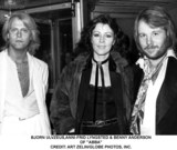 ABBA Photo - Bjorn Ulvzeusanni-frid Lyngsted  Benny Anderson of Abba Credit Art ZelinGlobe Photos Inc