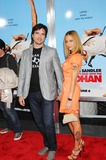 NAAMA SETTLE Photo - Special Screening Fo You Dont Mess with the Zohan Ziegfeld Theater NYC 06-04-2008 Photo by Ken Babolcsay-ipol-Globe Photos 2008 I13378kba Naama Nativ and Matthew Settle