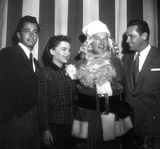 Anne Baxter Photo - John Derek Anne Baxter Bing Crosby William Holden at Hollywood Womens Press Club Christmas Party Photo Nate CutlerGlobe Photos Inc