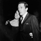 Andy Williams Photo - Andy Williams with Claudine Longet  Rich  Party 1970 Supplied by Globe Photos Inc
