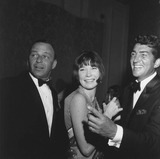 Dean Martin Photo - Shirley Maclaine with Frank Sinatra and Dean martinsupplied by Globe Photos Inc