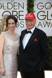 Niki Lauda Photo - Niki Lauda and Wife Birgit Wetzinger Attend the 71st Annual Golden Globe Awards Aka Golden Globes at Hotel Beverly Hilton in Los Angeles USA on 12 January 2014 Photo Alec Michael-Globe Photos Inc