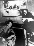 Edith Piaf Photo - Edith Piaf and Jean Cockeau Photo by InterpressGlobe Photos Inc
