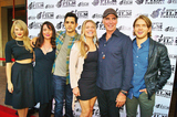 Group Shot Photo - The Austin Film Festival 2014 Presents the World Premier of the Film Dawn Patrol at the Paramount Theater in Austintexas on 10252014cast Group Shot Left to Rightkim Matulajulie Carmengabriel De Santidendrie Taylorjeff Faheychris Brochu