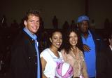 Chrystee Pharris Photo -  Sears Wnba Celebrity Game Crossroad School Santa Monica CA 10292001 Joel Klug Chrystee Pharris and Lisa Edelstein and Michael Clarke Duncan Photo by Amy GravesGlobe Photosinc