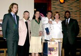 Andrea Casiraghi Photo - MONTECARLO STARS AND BARS RESTAURANT OFFERINGS COLLECT IN THE MONEY BOX FOR AMADE THE PRINCESS CAROLINE OF HANNOVER PRESIDENT OF AMADE HER SON ANDREA CASIRAGHI JACQUES DANOIS VICE PRESIDENT OF AMADE FRANCIS KASASA GENERAL SEGRETARY OF AMADE AND KATY WITH DIDIER THE OWNERS OF STARS AND BARS4302004PHOTO BYMARCO PIOVANOTTOLAPRESSEGLOBE PHOTOS INC  2004K36991