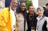 Jackie Joyner-Kersee Photo - The City of Los Angeles Marathon 20th Anniversary March 6 2005 in Los Angeles Runner Howard Bingham Jackie Joyner Kersee and Former State Assemblyman Herb Wesson and Joanie Samuelson Benoit Photo by Valerie Goodloe-Globe Photos Inc 2005