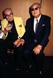 Akira Kurosawa Photo - Vincente Minnelli with Akira Kurosawa Photo by Phil Roach-ipol-Globe Photos Inc